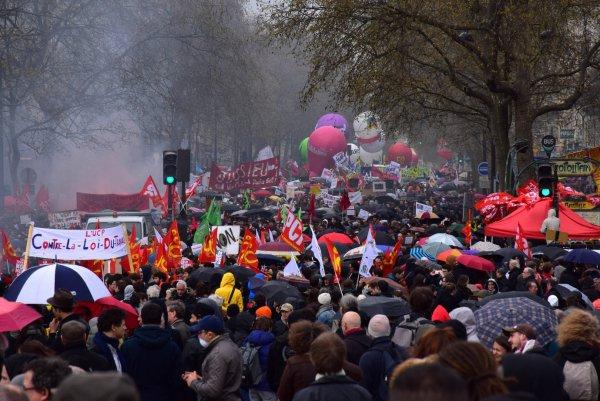 EU-kommissionen står bag forringelser af arbejdslove i Frankrig. Foto: Wikimedia Commons