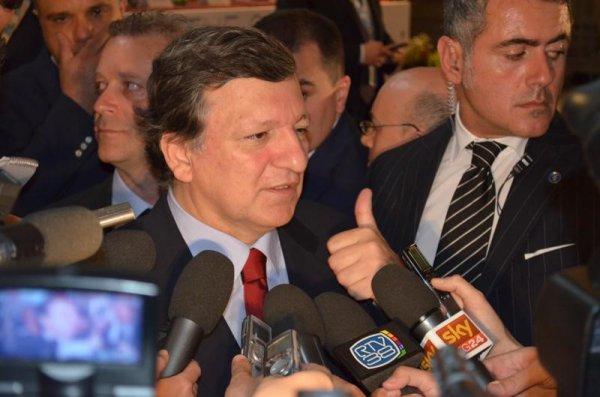 José Manuel Barroso kan godt være tilfreds med en anslået løn hos Goldman Sachs på 4-8 mio. kr. og en EU pension på 600.000 kr. om året. Foto: Wikimedia Commons.