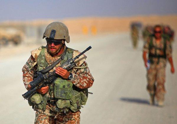 Skal danske soldater i fremtiden indgå i en EU-hær? Her ses danske soldater i Afghanistan. Foto: Lance Cpl. Bryan Nygaard, U.S. Marine Corps via Wikimedia Commons
